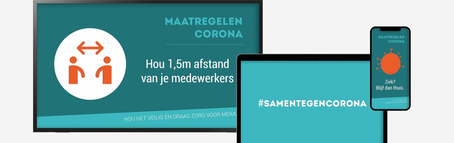 Interne communicatie corona content